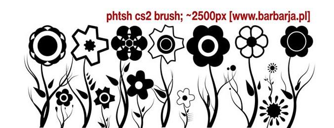 Floral Brush 2