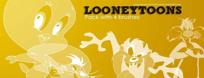Looneytoons Brushes