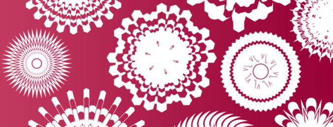 Pattern Shape Brushes