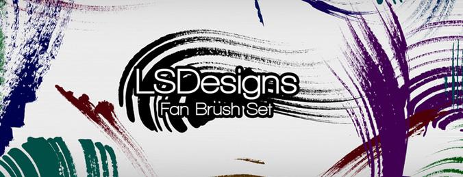 Fan Stroke Brushes