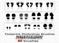 footprint brushes