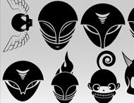 Aliens & UFO Brush