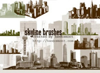 Skyline Brushes