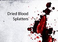 Dried Blood Splatters
