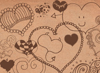 Hearts Doodles Brushes