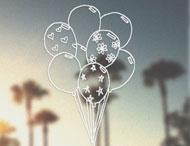 Drawn Balloon Brush