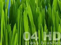 HD Grass Brushes