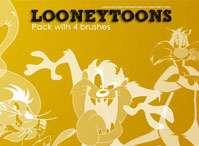 Looneytoons Brushes