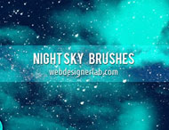Photoshop Night Brushes