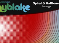 Spiral & Halftone