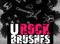 U Rock Brushes